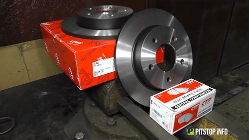 Замена тормозных колодок дисков Шостка Ремонт тормозной системы видеореклама питстоп